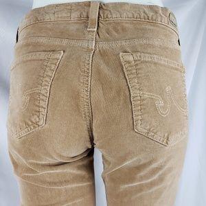 AG Corduroy Slim Boot Pants 28R